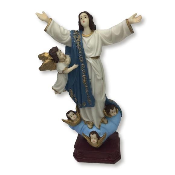 IM1740053 - Imagem N. Sra. da Assunção Resina - 20x12cm