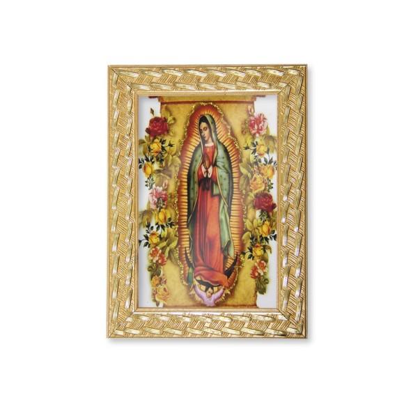 QD91018 - Quadro Moldura N. Sra. De Guadalupe - 13x18cm