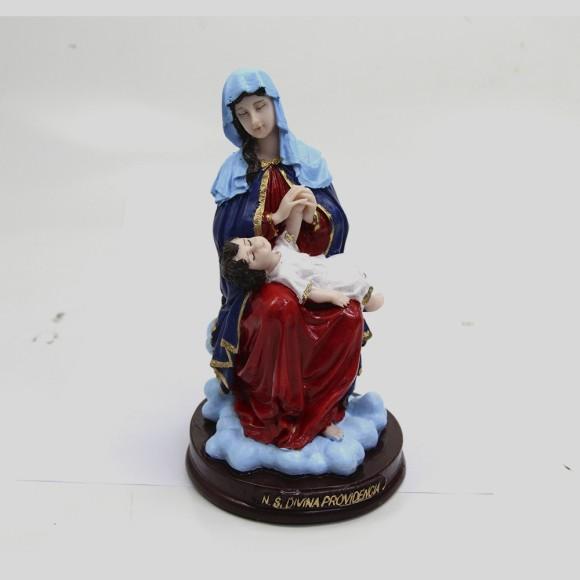 IM1740075 - Imagem N. Sra. Da Divina Providencia Resina - 20x10cm