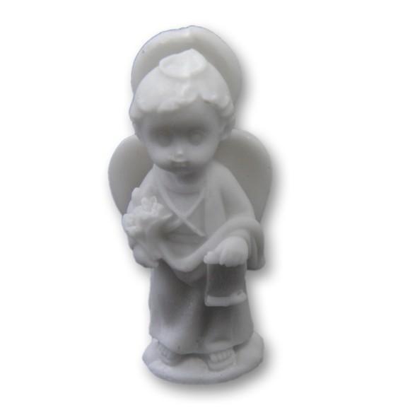 IM1150202 - Imagem São Gabriel Arcanjo Baby Resina - 8x3,7cm