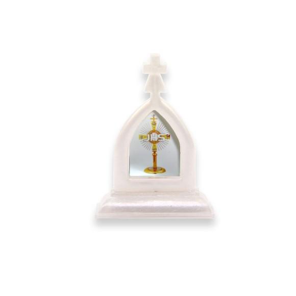 CP112011 - Capela Primeira Eucaristia JHS Acrílico - 7x5cm