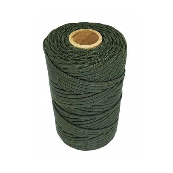 COM540049 - Fio Encerado Verde Musgo - 1mm