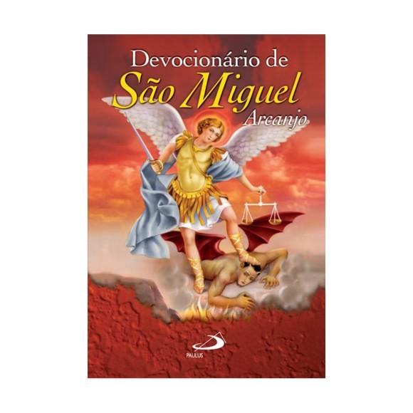 LI47306 - Devocionário de São Miguel Arcanjo - 13x9cm