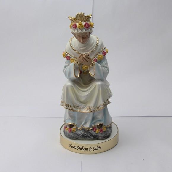 IM1740096 - Imagem N. Sra. Da Salette Resina - 20,5x10cm