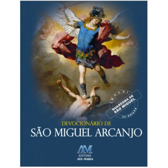 LI47532 - Devocionário e Novena de  São Miguel Arcanjo - 15x11cm