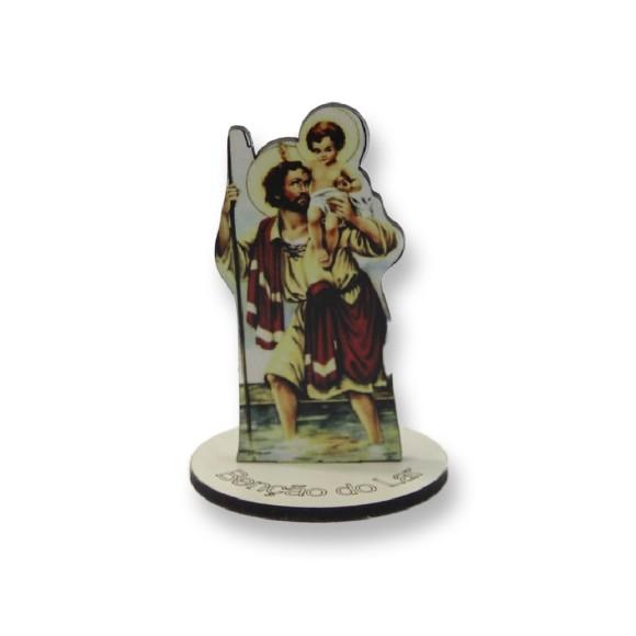 AO291108 - Pedestal São Cristovão MDF - 8x5,3cm
