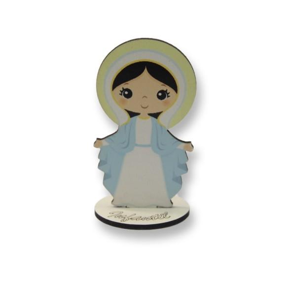 AO292502 - Pedestal N. Sra. das Graças Infantil MDF - 10x5,4cm