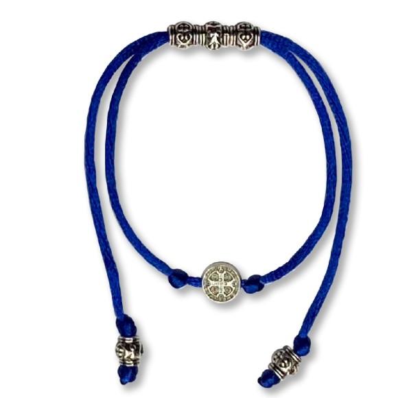 AS410108 - Pulseira São Bento Azul Royal - 9,5x1cm