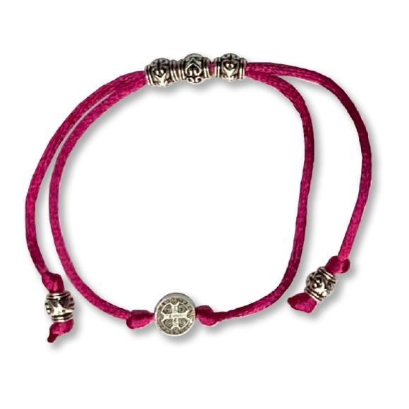 AS410102 - Pulseira São Bento Rosa Pink - 9,5x1cm