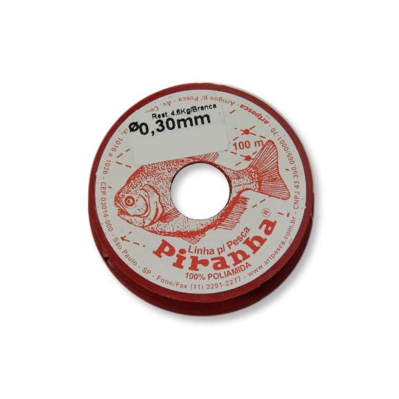 COM542004 - Fio De Nylon 0.30