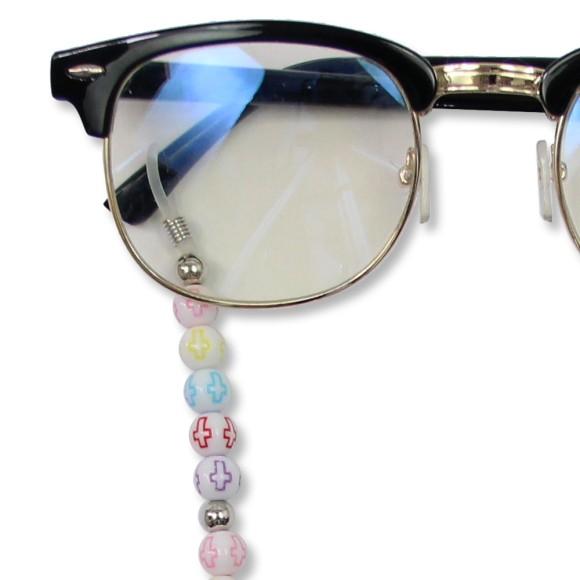 AC1710810 - Cordão Para Óculos Infantil Cruz Colorida - 43x0,8cm