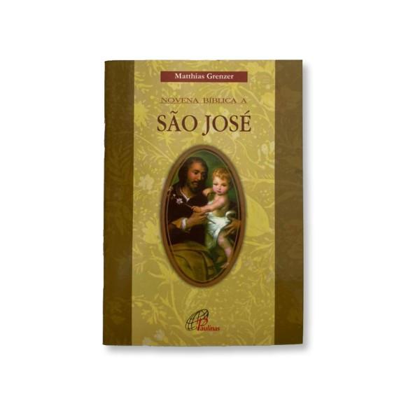 LI47449 - Novena Bíblica A São José - 15x10cm