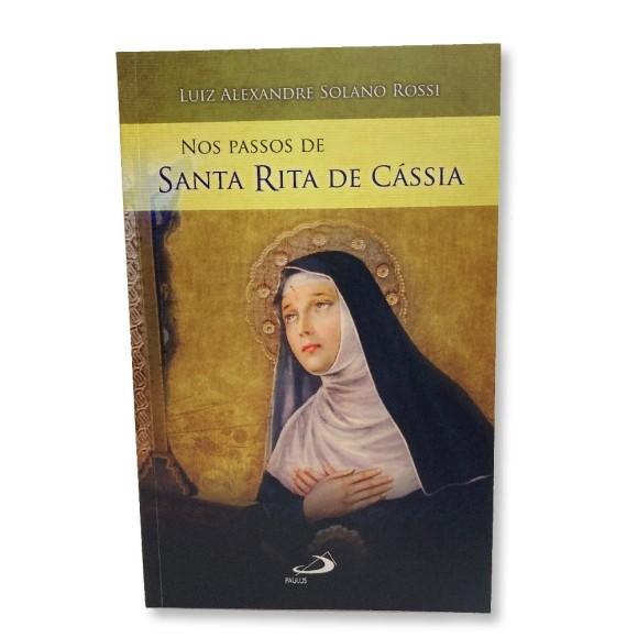 LI116367 - Nos Passos De Santa Rita De Cássia - 21x13,5cm