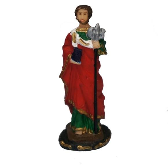 IM1720405 - Imagem São Judas Tadeu Resina - 8x3cm