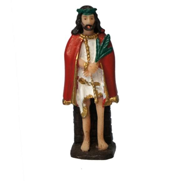 IM1720418 - Imagem Bom Jesus de Iguapé Resina - 7x2cm
