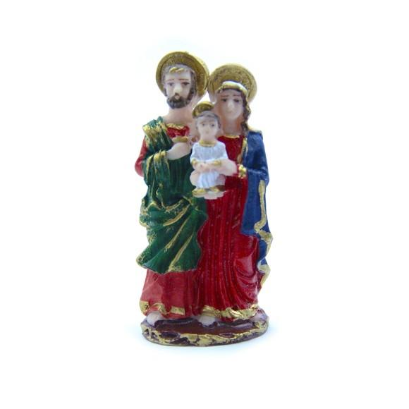 IM1720803 - Imagem Sagrada Família Resina - 9x4cm