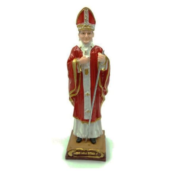 IM1730433 - Imagem Papa João Paulo II Resina - 15x5cm