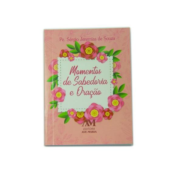 LI116007 - Momentos de Sabedoria e Oração Capa Rosa 11,5x8,5cm