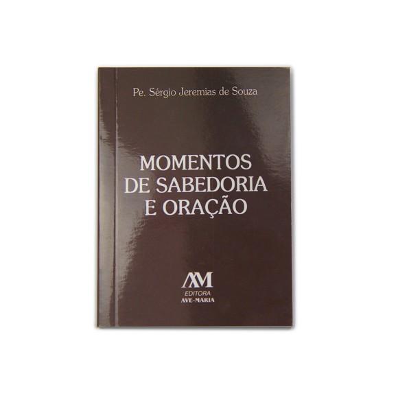 LI116008 - Momentos de Sabedoria e Oração Capa Marrom 11,5x8,5cm