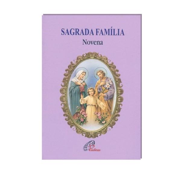 LI47302 - Novena Sagrada Família - 13x9cm