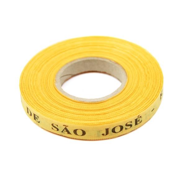 RF141173 - Rolo de Fita São José Amarelo Ouro