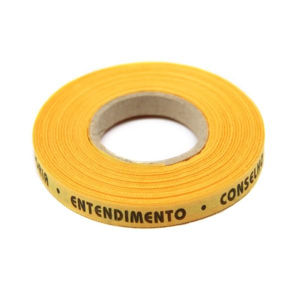 RF01001 - Rolo de Fita 7 Dons do Divino Amarelo Ouro