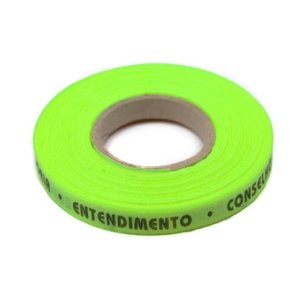 RF01007 - Rolo de Fita 7 Dons do Divino Verde Citrico