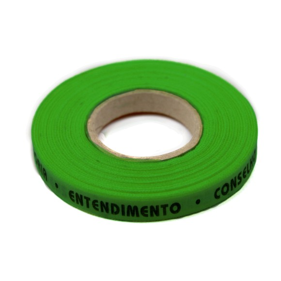 RF01008 - Rolo de Fita 7 Dons do Divino Verde Bandeira