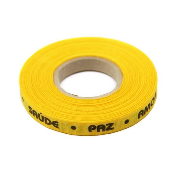 RF159001 - Rolo de Fita Virtudes Amarelo Ouro