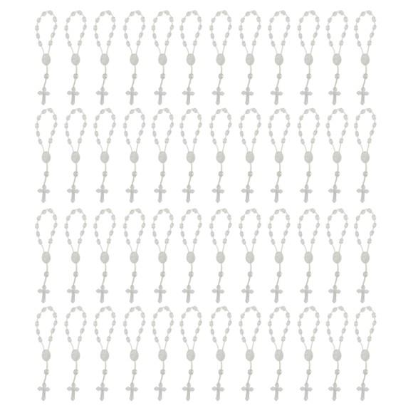 DZ05002P50 - Dezena de Acrílico Transparente c/50un. - 13,5x1cm