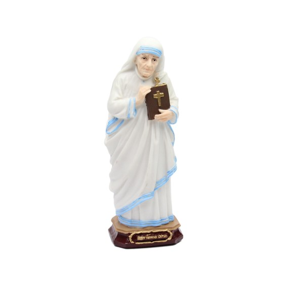 IM1740033 - Imagem Santa Teresa de Calcutá Resina - 22x7,5cm