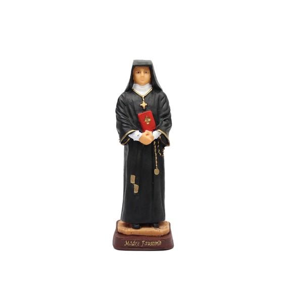 IM1740041 - Imagem Santa Faustina Resina - 19,5x6,5cm