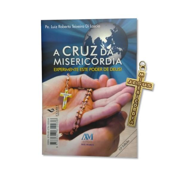 LI116090 - A Cruz da Misericórdia c/ Pingente de Cruz- 15x10cm