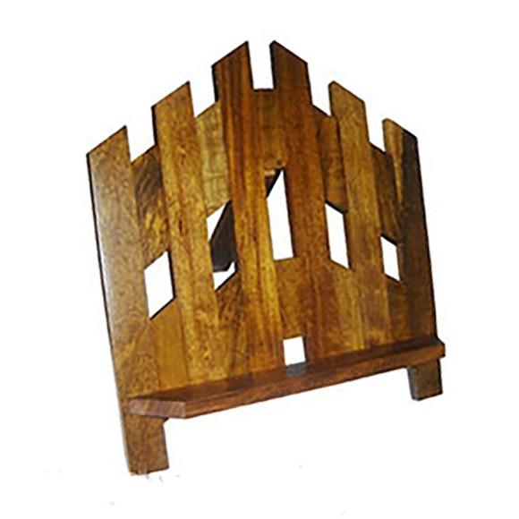 PB7602 - Porta Bíblia Madeira Grande 34x32cm