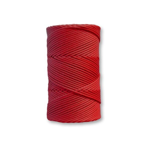 COM540017 - Fio Encerado Vermelho - 1mm