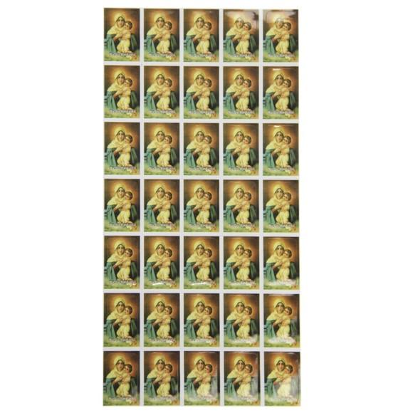 AD11608 - Adesivos Mãe Rainha (Cartela c/ 35un.) - 2,5x1,8cm