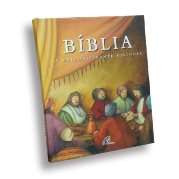BI151950 - Bíblia A Mais Fascinante História Eucaristia 21x17,5cm