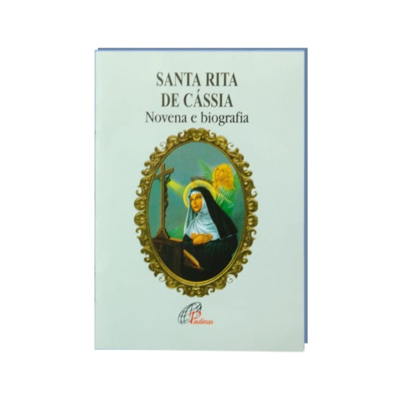 LI47112 - Novena Santa Rita de Cássia - 13x9cm
