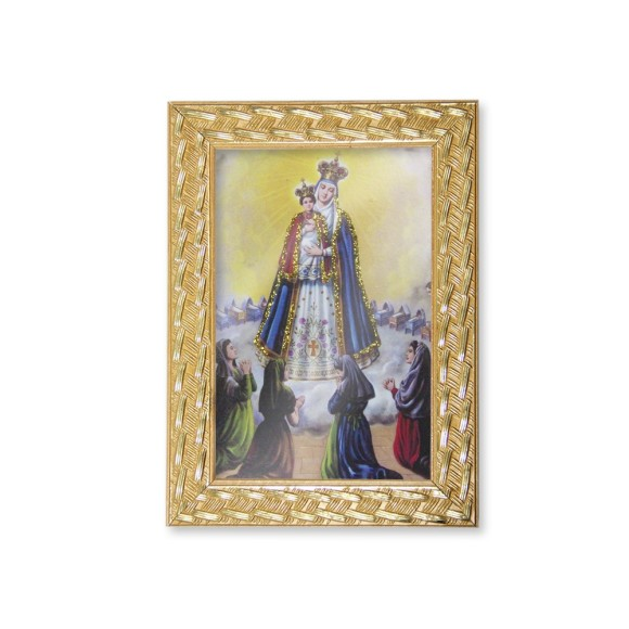 QD91010 - Quadro Moldura N. Sra. Do Bom Parto - 13x18cm