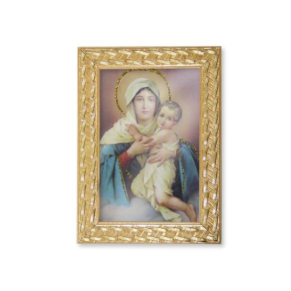 QD91015 - Quadro Moldura Mãe Rainha - 13x18cm