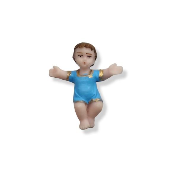 IM32901 - Menino Jesus Resina -  4,5x4cm